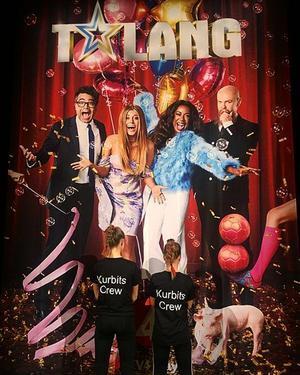 Det var förra våren som Kurbits crew anmälde sig till TV4:s Talang. Foto: Josefin Nilsson