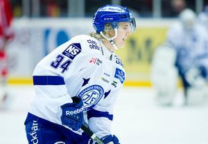 Isac Skedung spelade för Leksand i fjol. Foto: Robbin Norgren/Bildbyrån.