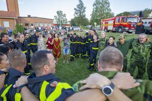 Tillsammans övervann de en av Sveriges största brandkatastrofer i modern tid.