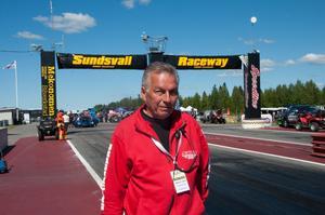 Tommy Sjödin är medie- och pressansvarig under helgens tävlingar.