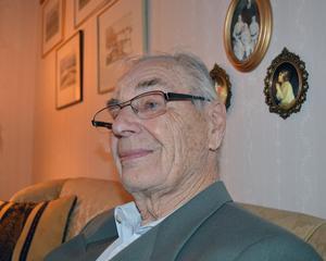 Erik Ströms recept för långt liv är gott humör och envishet.