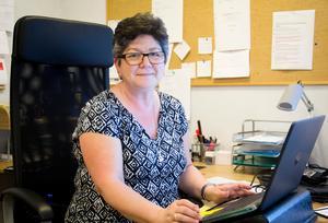 Mariana Esterblom, verksamhetschef på kvinnojouren Frida i Fagersta, är första kvinna på lönelistan, på fjärde plats. Foto: Arkiv