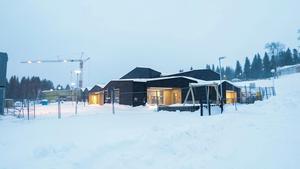 Fjällbackens förskola i Undersåker börjar närma sig färdigställande. Fyra av sex avdelningar är klara och det nya köket är också färdigt.
