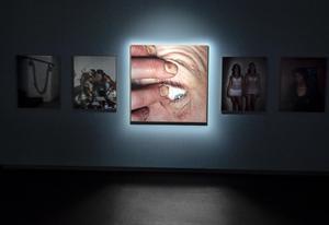 En av Lars Tunbjörks mest personliga fotoserier var