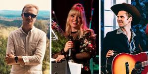 Broder Henrik Rapp, Violet Days och Martin Riverfield & The Wheels of Fortune uppträder på Putte i Parken i Leksand i sommar. Foto: Pressbild/Stina Rapp/Pressbild