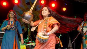 Bauls of Bengal bjöd på en timmes musiktraditionen från Bengal.