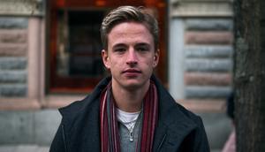 Oskar Gustafsson, 21 år, student, Granlo.