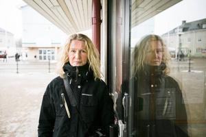 Elina Sorri, tidigare reporter på Arbetarbladet och Ockelbo kommuns första helanställda skribent. Foto: Erik Engelro