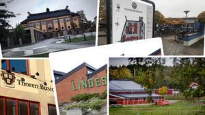Det finns fler än dessa gymnasieskolor att välja på i länet.