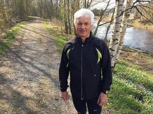Torsten Pettersson håller sig frisk och pigg tack vare träningen flera gånger i veckan.