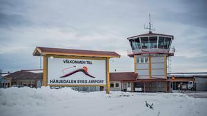 Flygplatsen i Sveg. Arkivbild. Foto: Jenny Nars.