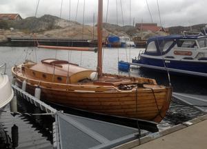Sedan Lars-Urban Hejle köpte Taifun har han legt ner många timmars arbete på båten.