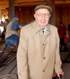 U/tomordentligt bra, tyckte Oscar Andersson om flottningsmuseet.