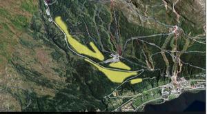 Illustration: Rödkulleprojektet. Som Rödkullen Panorama skissat i sin Masterplan.