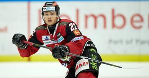Christoffer Forsberg har skrivit ett nytt kontrakt med Malmö Redhawks som löper fram till 2023. Foto: TT