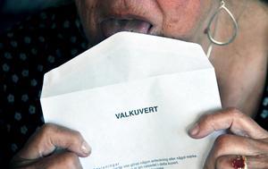 Vet du inte vilken valsedel du ska lägga i kuvertet så har Olle Larsson, Landsbygdspartiet Härjedalen en idé.