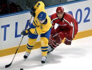 Två månader efter att han spelat i Timrå jagade Igor Matushkin Marcus Näslund och andra världsstjärnor i OS.