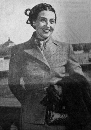 Sandvikens glömda stjärna. Svenskättade Blanche Thebom var en älskad amerikansk operaprimadonna som hyllas på Hollywood Walk of Fame, men hade sina rötter i Sandvikentrakten. De två bilderna till höger togs av Arbetarbladets fotograf när hon återvände 1950.