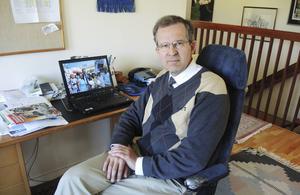 Lennart Sacrédeus (KD) från Mora vill höja kunskap och  ambition i skolan.