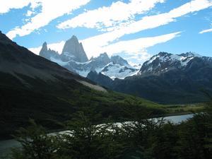 Fitz Roy, ett berg i södra Patagonien på gränsen mellan Chile och Argentina. Foto: Mikael Johansson