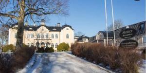 I dag består slottsanläggningen på Johannesberg av nio olika hus.        Bild: Joakim Dahlbäck