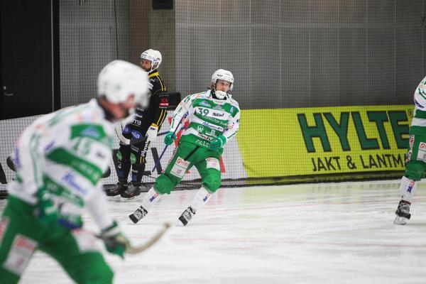Martin Landström fick testa på livet som anfallare – och gjorde succé.