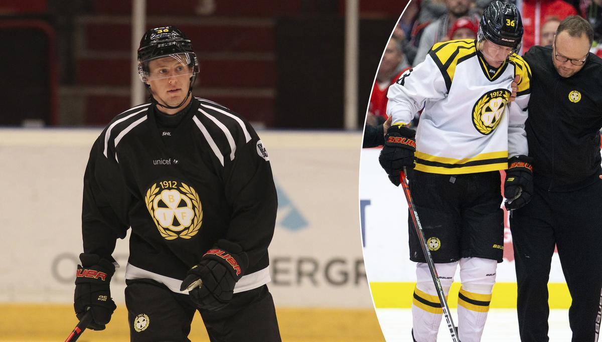 Äntligen positiva Brynäsnyheter – Linus Ölund på is igen: