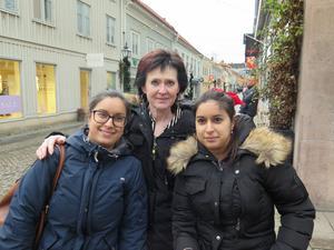 Emma, Marie-Louis och Frida Vester