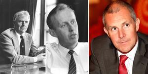 Sedan början av 1980-talet har Arbetarbladets reporter Anders Eklind fått tillfälle att intervjua alla de män som avlöst varandra som Sandviks högsta chefer.