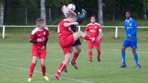 Norbergs AIF föll ihop totalt i den andra halvleken mot FC Europe Juniors.