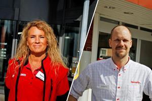 Både Patricia Kvist Sjöström, Willys, och Kenneth Pettersson, Hemköp, berättar om att det sker många butiksstölder i Avesta.