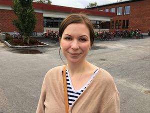 Julia Magnell, 29 år, föräldraledig, Matfors: