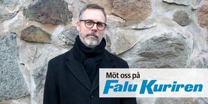 Anders K Gustafsson, Falu-Kurirens kulturredaktör, har haft många roller på tidningen genom åren. Foto: Simon Kosjanov
