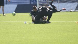 Filip Rogic klev av den sista träningen före matchen mot IFK Göteborg.