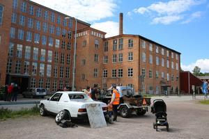 Olika EPA-traktorer fanns att se i Sågmyra.