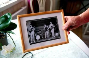 Nizze och hans vänner spelade på Wivex. Här någon gång på 60-talet.