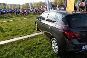En slumpvis deltagare hade chansen att vinna en bil.