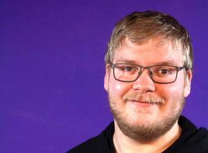 Johan Fridlund, nybliven förbundskassör för UNF Sverige.