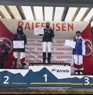My Bjerkman Vinner i Europacup puckelpist i Airolo