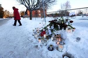 Ringargatan, dagen efter mordet, den 12 januari 2019.