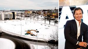 350 miljoner kronor kostar det nya hotellet som Petter Stordalen och Diös kommer att bygga på den gamla Norrmalmsparkeringen.
