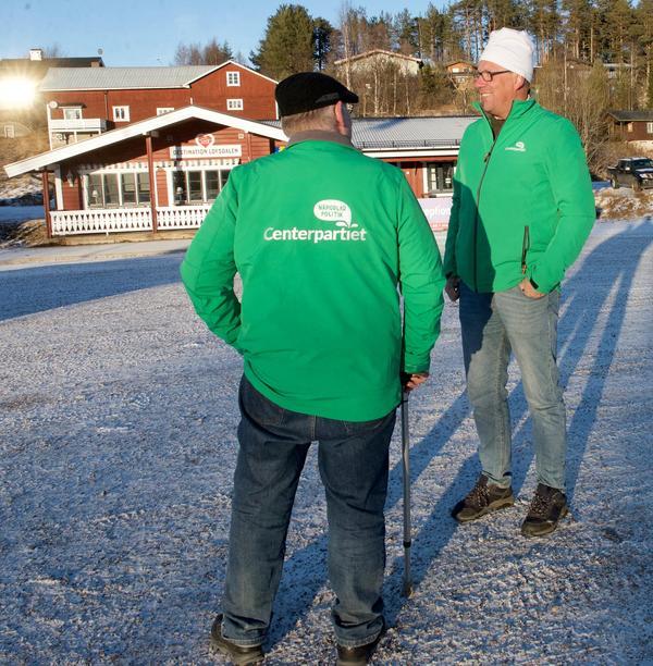 Anders Häggkvist (C) berättar att kommunstyrelsen är enig i beslutet att skriva till länsstyrelsen för att få en dialog med Sametinget om gränserna till rennäringens riksintresse i Härjedalen.