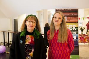 Gunilla Nybom och Emma Faxälv har jobbat fram ett brett program under veckan.