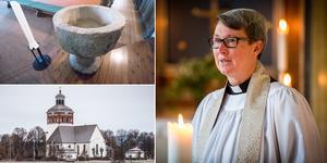 För första gången ska drop in-dop arrangeras i Bollnäs kyrka lett av prästen Åsa Tollén.