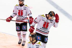 Ryan Stoa och hans Örebro föll tungt mot Brynäs. Bild: Maxim Thore/Bildbyrån