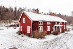 Rättarbostaden i Ågs bruk. Foto: Svensk Fastighetsförmedling Falun