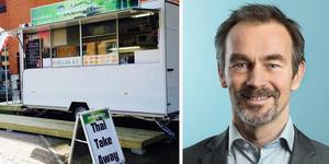 Polfoods thai take away uppmuntras att söka nytt tillstånd säger Lars Lindberger. Foto: Arkiv och Norrtälje Kommun