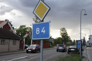 Regionen prioriterar om – riksväg 84 kan bli kvar i Ljusdals köping i över tio år till.