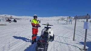 Jonas Stenberg känner terrängen i Lofsdalen med omnejd.