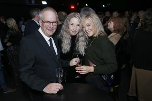 Björn Sandberg, Michaela Illiminsky och Lise Sundell representerade sitt företag Sense for Expo. De är galaveteraner och har deltagit under alla elva företagsgalor.